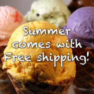 Free Shipping in June!